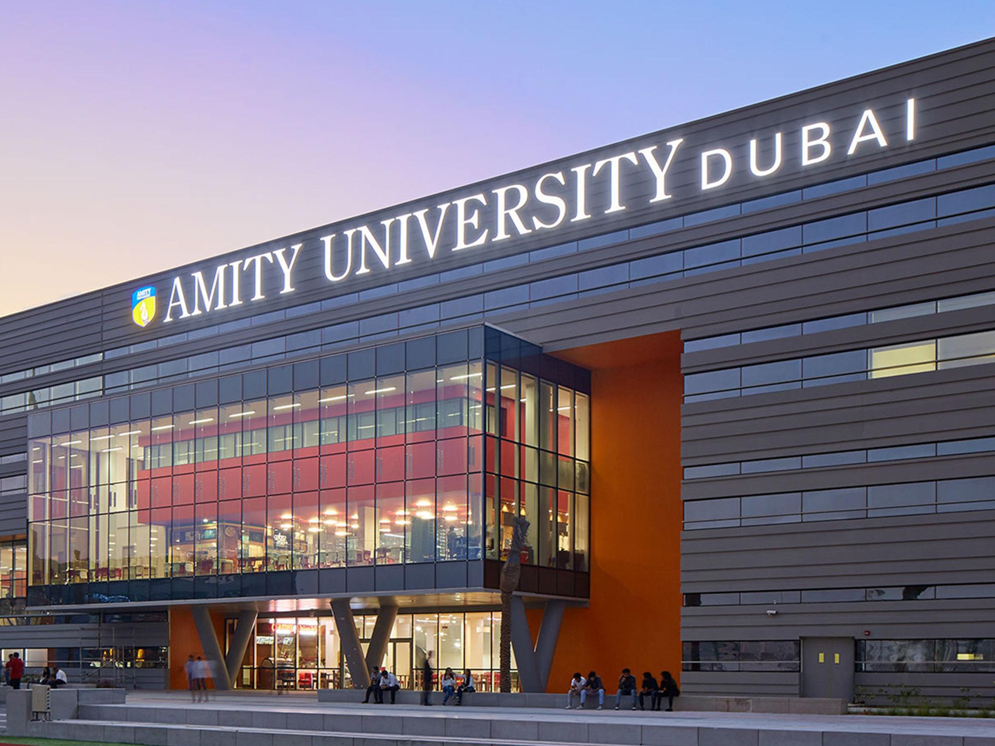 Amity University Dubai Bmtc